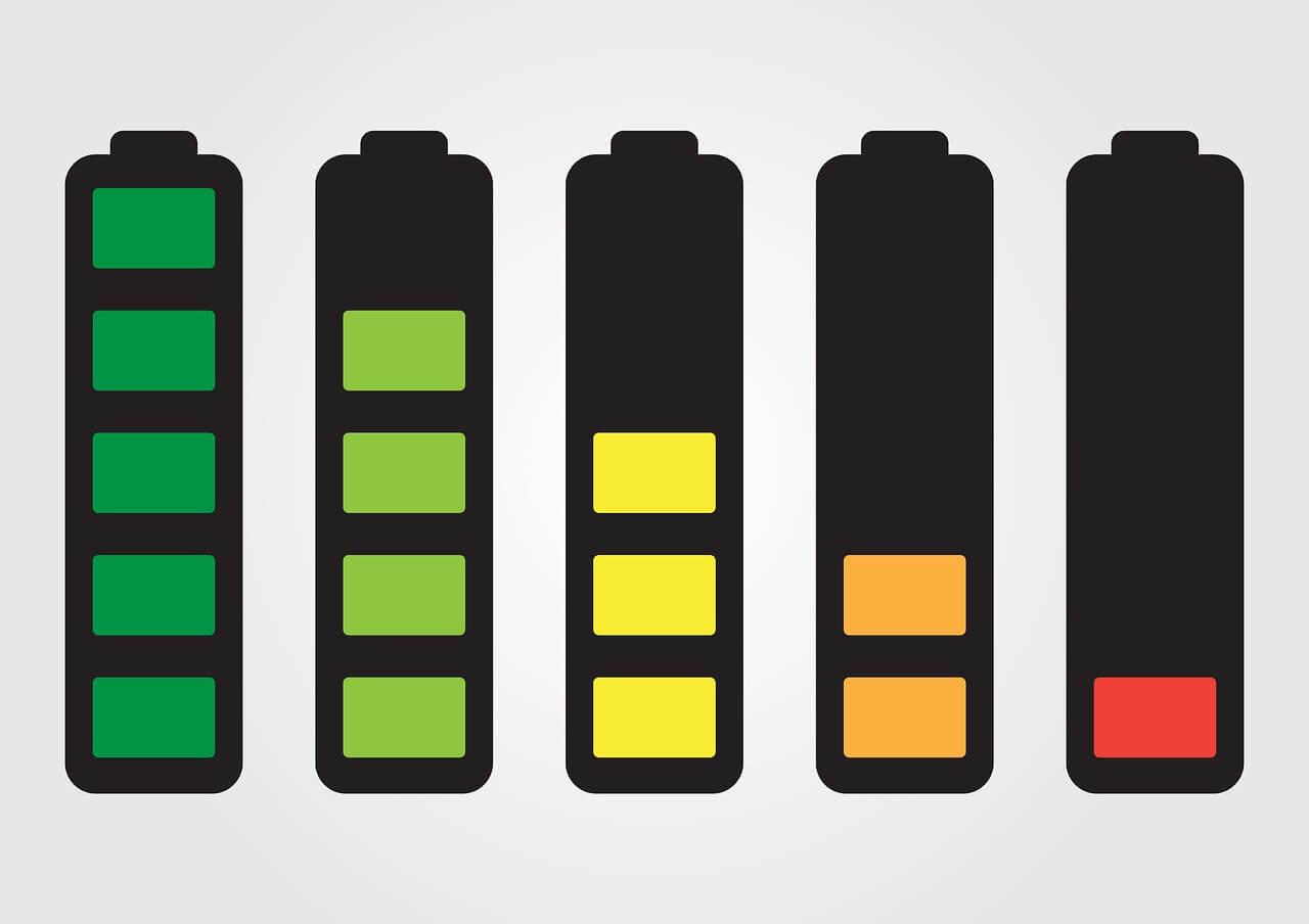 """""""電池""""の残量は大丈夫?"""
