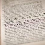 言葉の定義=行動の変化