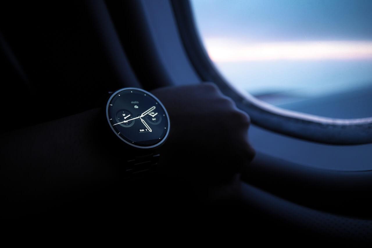 腕時計とリソースの使い方